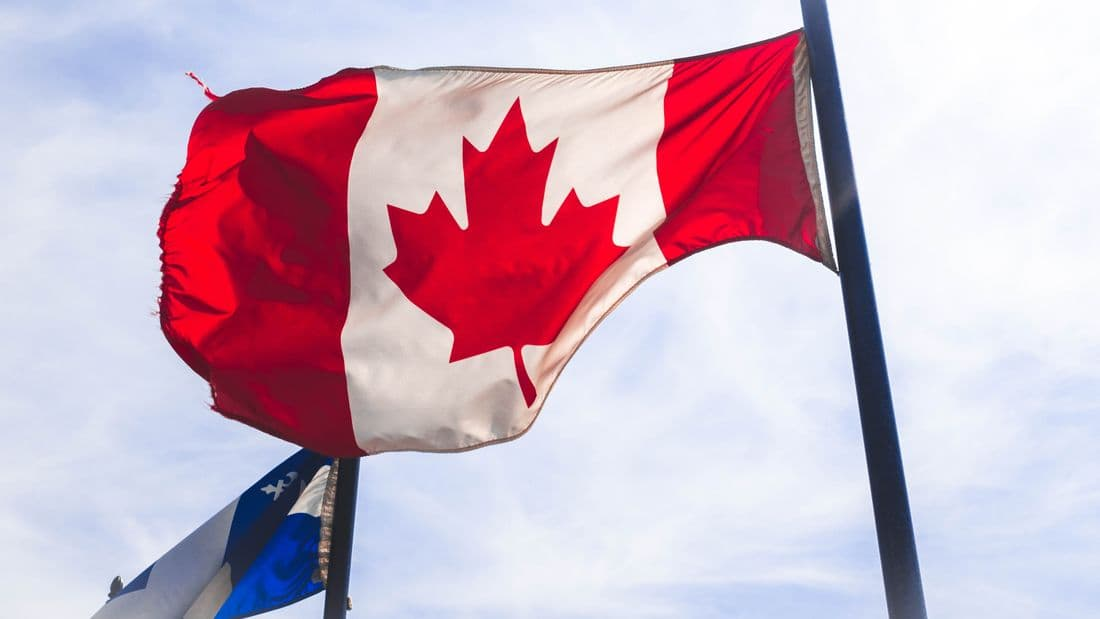 Canada & Quebec Flags